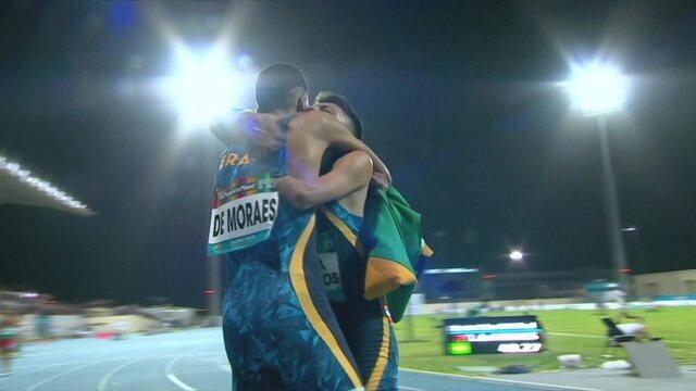 Final dos 400m tem dobradinha brasileira no Mundial de Atletismo Paralímpico