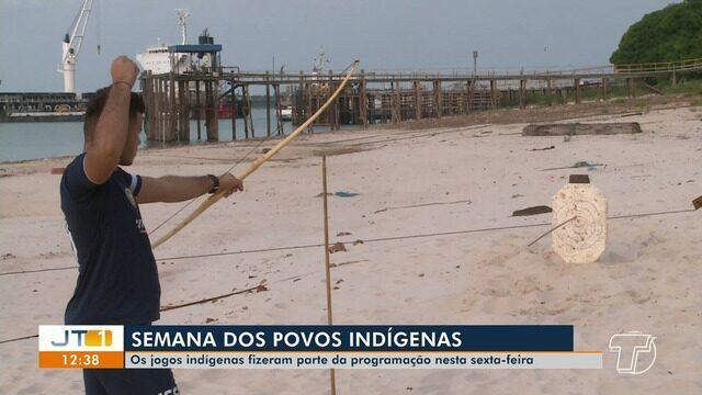 Jogos indígenas da Ufopa reúne modalidades tradicionais às margens do Rio Tapajós