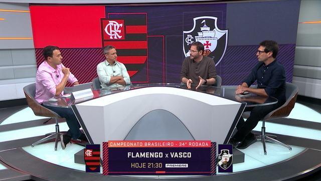 Comentaristas discutem Jorge Jesus x Vanderlei Luxemburgo e Flamengo x Vasco