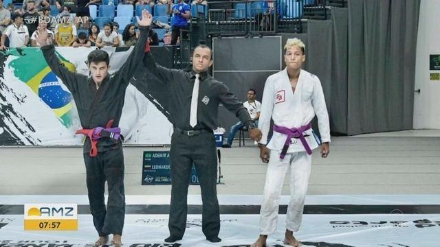 Amapaense Ademir Barreto é campeão do Grand Slam de jiu-jítsu no Rio de Janeiro