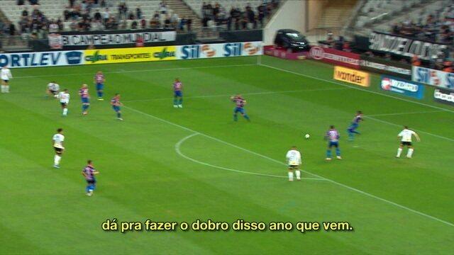 Boselli fala em permanência no Corinthians após volta ao time titular e gols