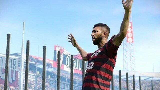 Melhores momentos: Gabigol faz dois e Flamengo bate River em simulação no PES 2020