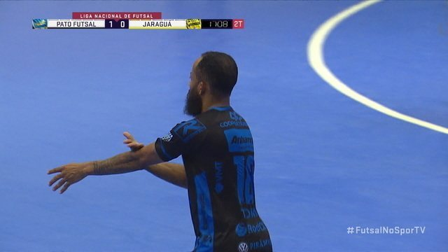 Os gols de Pato Futsal 2 x 0 Jaraguá pela Liga Nacional de Futsal