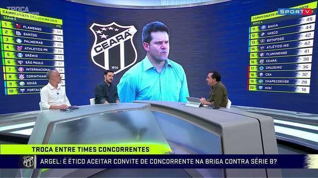 """Cereto critica postura de Argel Fucks na troca do CSA pelo Ceará: 'Inadmissível"""""""