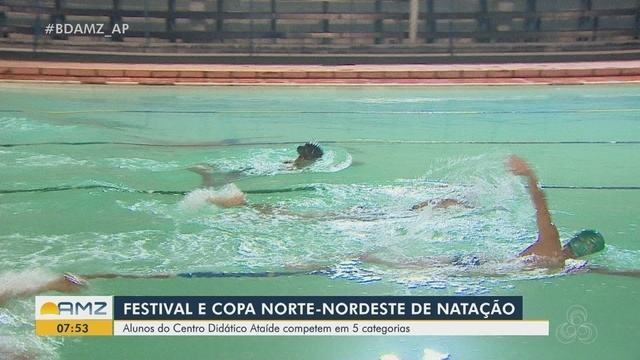 Grupo do AP compete em 5 categorias no Festival e Copa Norte-Nordeste de Natação
