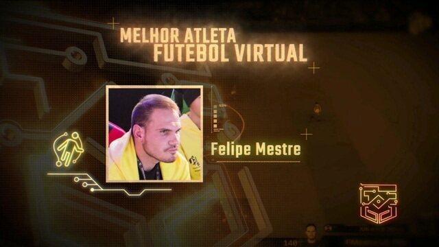 Conheça Felipe Mestre, indicado na categoria Melhor Atleta de Futebol Virtual no Prêmio Esports Brasil