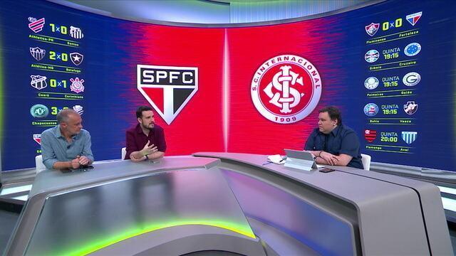 Mesa analisa melhores momentos de São Paulo e Internacional