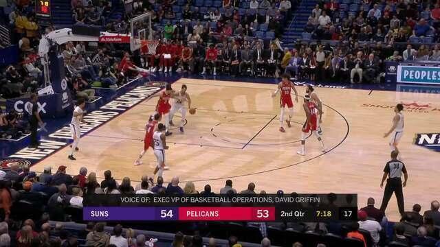 Melhores momentos de Phoenix Suns 139x132 New Orleans Pelicans pela NBA
