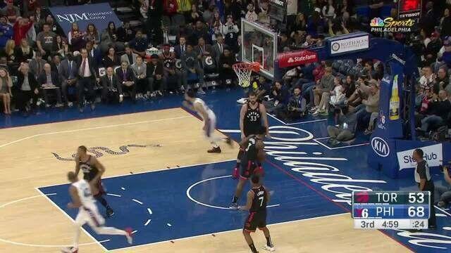 Melhores momentos: Philadelphia 76ers 110 x 104 Toronto Raptors pela NBA