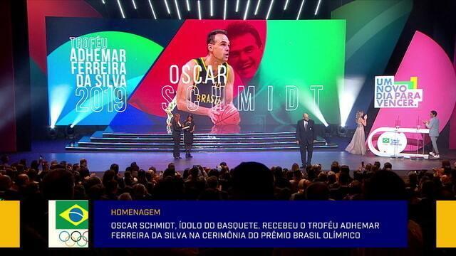 Jornalistas comentam o prêmio Brasil olímpico