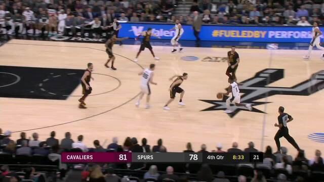 Melhores momentos de Cleveland Cavaliers 117 x 109 San Antonio Spurs pela NBA