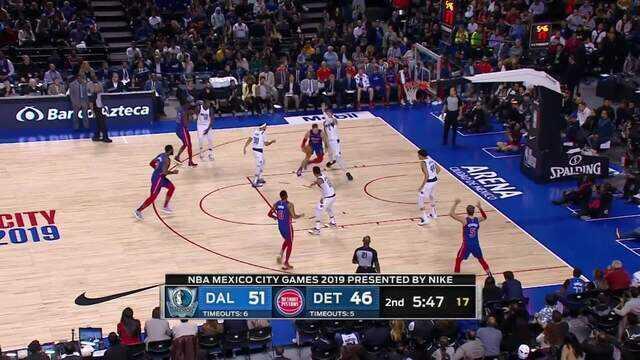 Melhores momentos de Dallas Mavericks 122 x 111 Detroit Pistons pela NBA