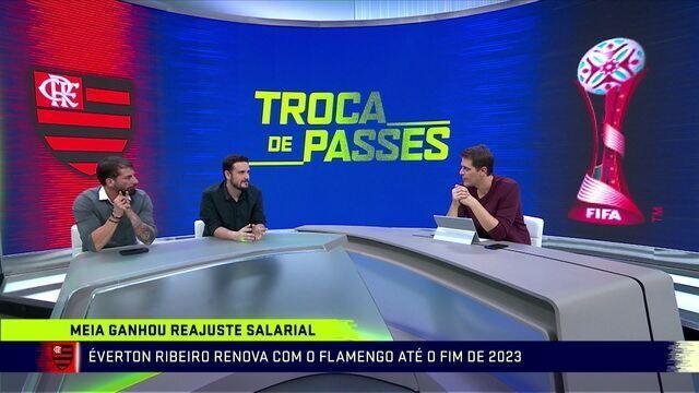 Raphael Rezende avalia que se há alguém que não abriria mão no quarteto ofensivo do Flamengo seria Éverton Ribeiro