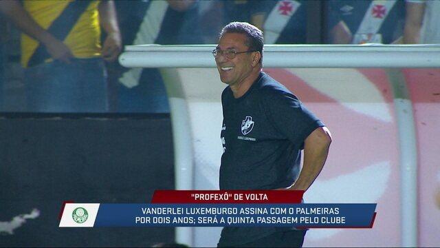 André Loffredo acredita em falta de coerência do Palmeiras em contratar Luxemburgo