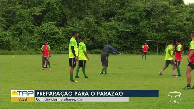 Tapajós se prepara para disputar o Campeonato Brasileiro