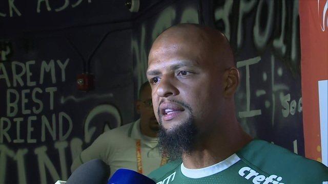 """Felipe Melo fala sobre preparação do Palmeiras: """"Esse negócio de Paulistinha não existe"""""""