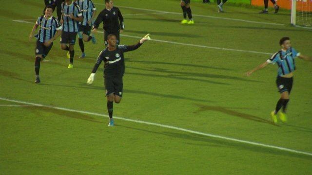 Os pênaltis de Vasco 3 x 4 Grêmio pelas quartas de final da Copa SP de Futebol Júnior