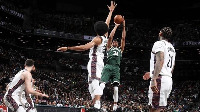 Melhores momentos de Milwaukee Bucks 117 x 97 Brooklyn Nets pela NBA