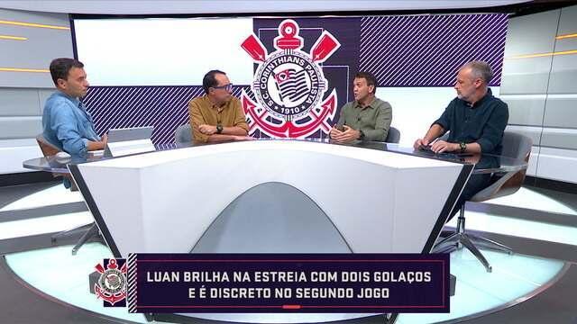 comentaristas debatem sobre as mudanças do Corinthians para a temporada