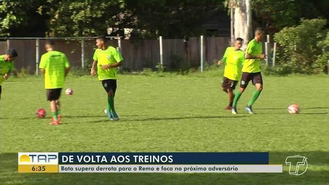 Tapajós retoma treinos em preparação à próxima rodada do Campeonato Paraense