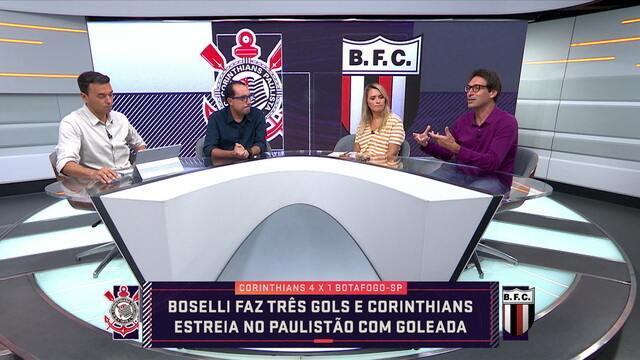 Carlos Cereto diz que a exibição do Corinthians foi a de maior impacto entre os times grandes brasileiros