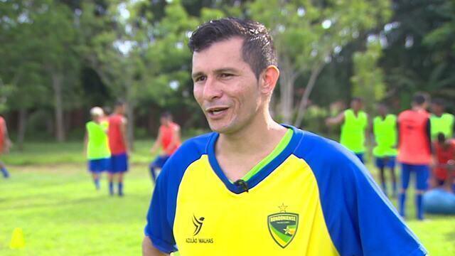 Jogador de Rondônia encontra na família, forças para continuar no futebol