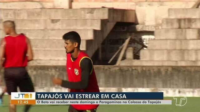 Tapajós intensifica treinos para enfrentar Paragominas na segunda rodada do Parazão