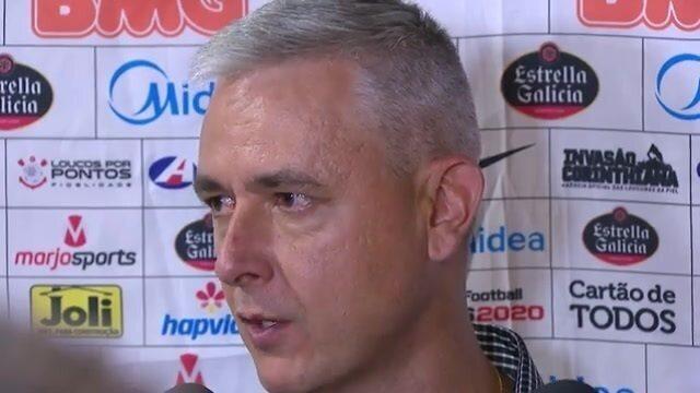Veja a entrevista coletiva de Tiago Nunes após empate do Corinthians com o Mirassol