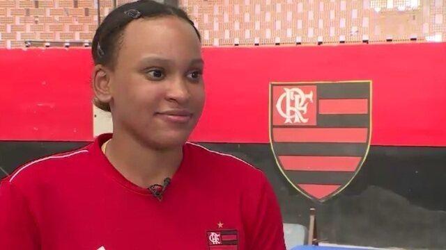 """Após """"sorte"""" em cirurgia, Rebeca Andrade projeta vaga olímpica em Tóquio 2020"""