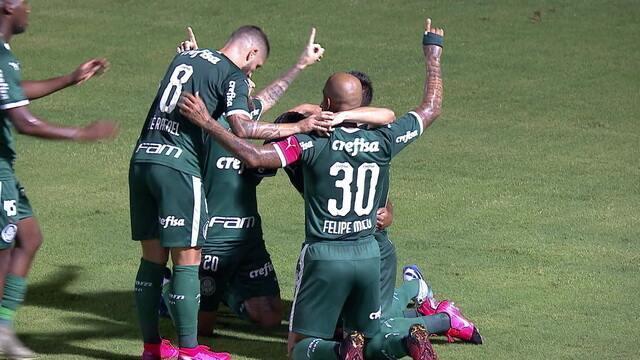 O gol de Ponte Preta 0 x 1 Palmeiras pela 5ª rodada do Campeonato Paulista