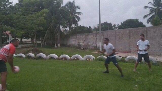 Ainda sem clube, Márcio Araújo faz pré-temporada por conta própria