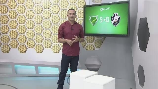 Náuas goleia o Vasco-AC, vence a primeira e é vice-líder do grupo B do Acreano