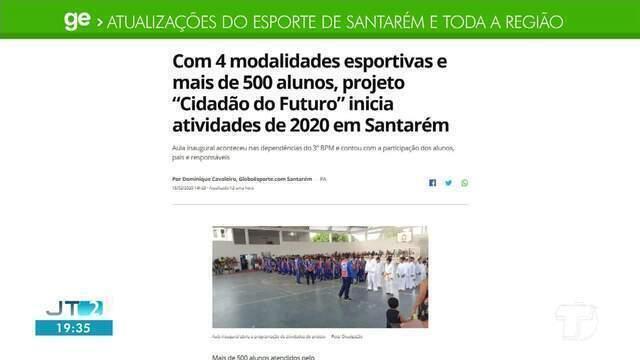 Projeto 'Cidadão do Futuro' é destaque no GE Santarém e região
