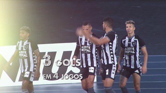 Espião estatístico mapeia como é o Botafogo que Autuori começa a comandar nesta quarta-feira