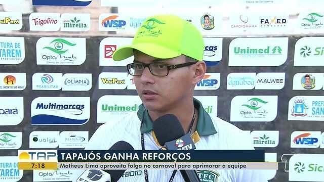 Tapajós ganha novos reforços para o próximo jogo
