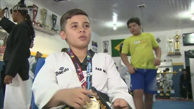Dan Bryan, 1º atleta de Rondônia a compor a Seleção Brasileira de Taekwondo