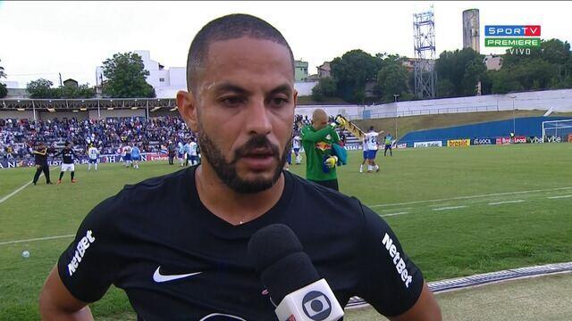 Ytalo comenta derrota do Bragantino para o Santo André no Campeonato Paulista