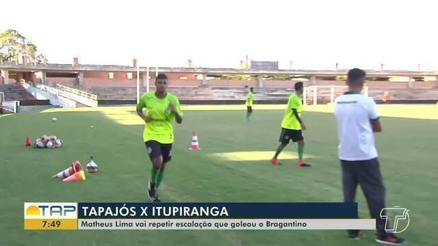 Tapajós intensifica trabalhos para duelo com Itupiranga