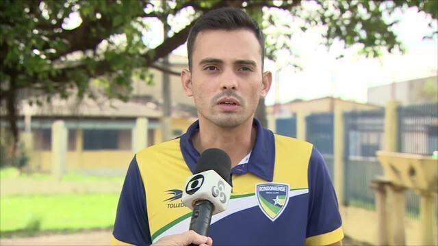 Alisson Albino, gerente do Rondoniense fala sobre paralisação do Campeonato Estadual