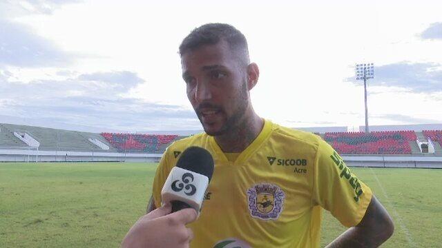 Autor de gol que abriu caminho para goleada destaca concentração na final do 1º turno