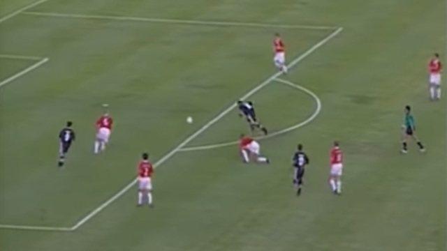 Em 2000, Vasco vence Manchester United pelo Mundial de Clubes