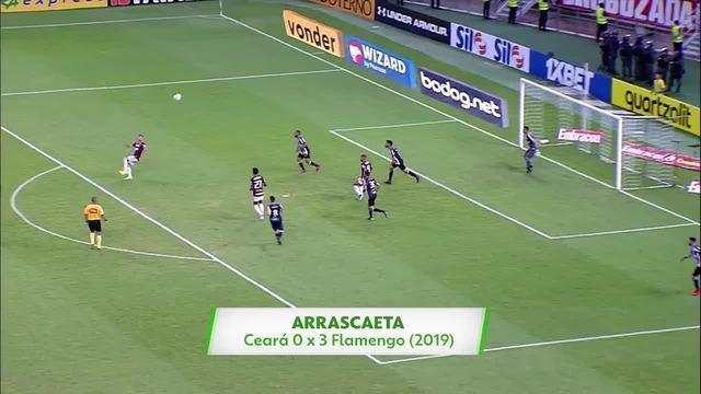 Qual é o gol mais bonito da história do Flamengo? Vote!