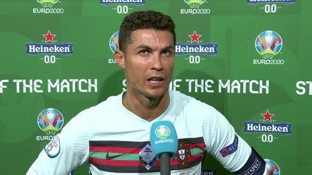 CR7 fala sobre vitória de Portugal sobre a Hungria na Eurocopa