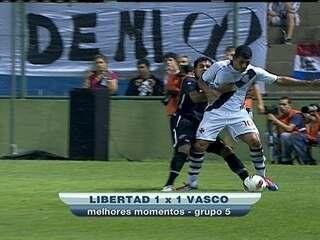 0c8d93fd01 No empate em 1 a 1 com o Libertad