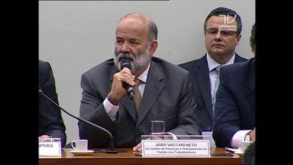 Vaccari nega à CPI ter pedido dinheiro para o PT a ex-diretores da Petrobras
