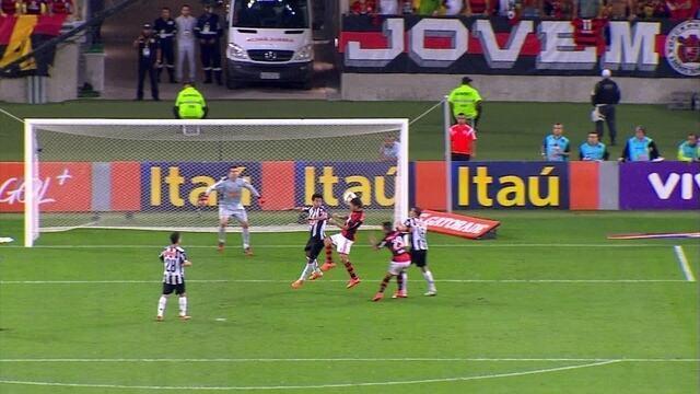 ESPORTE:Flamengo mesmo sem ser brilhante venceu o Atlético-MG por 2 a 1, de virada, na noite de quar...
