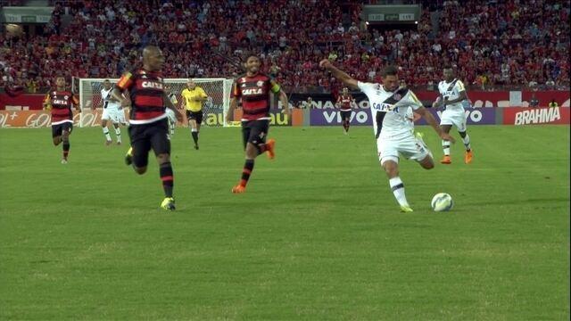 Crist�v�o Borges cita pouca cria��o e diz: N�o � esse o nosso Flamengo