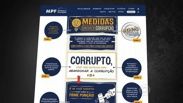 Procuradores propõem medidas contra a corrupção