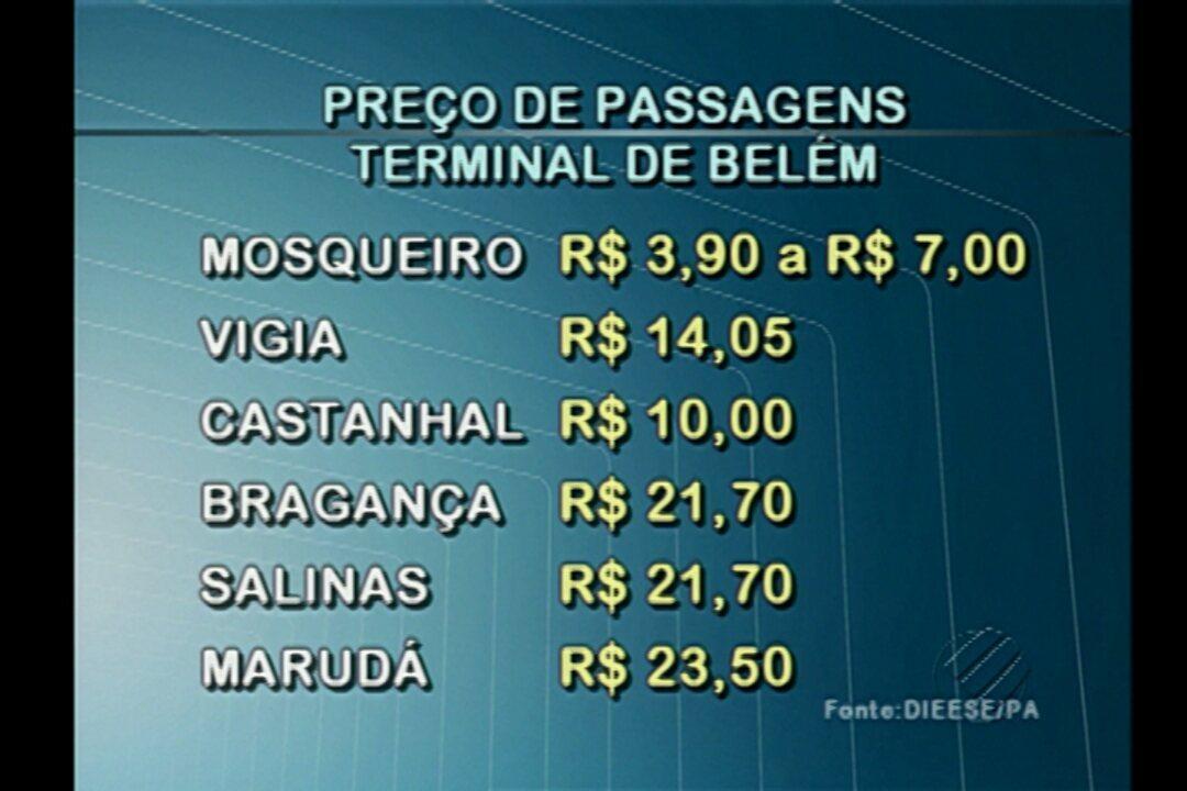 Confira Os Preços De Passagens De ônibus No Terminal De Belém G1