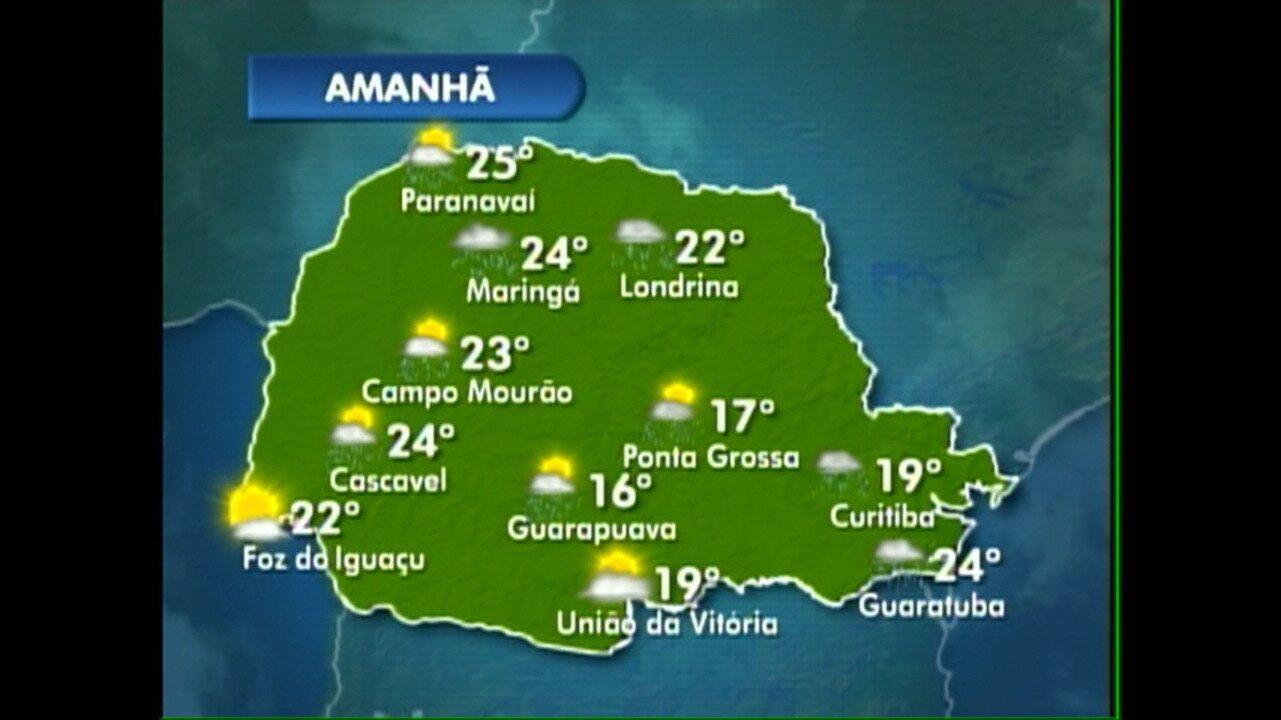 O tempo fica chuvoso nesta sexta-feira no Paraná - G1 Paraná - Paraná TV 2ª  Edição - Vídeos - Catálogo de Vídeos 01bdddad342b3